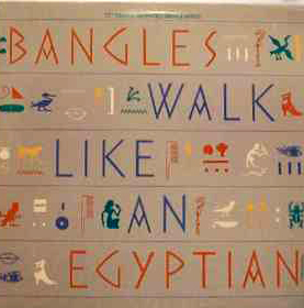 Otra portada del sencillo Walk Like an Egyptian