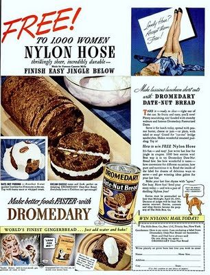 Dying For Chocolate Dromedary Date Nut Bread In A Can Vintage Ad