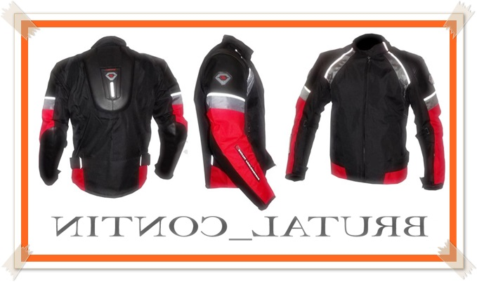 model jaket touring contin