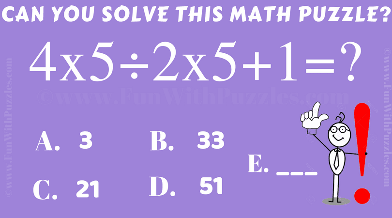 Brain Question from Math for Kids with Answer-Brain ...