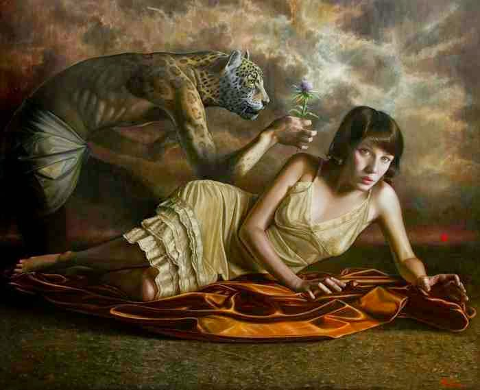 Аргентинский художник. Ricardo Celma