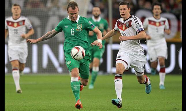 مباراة المانيا وإيرلندا