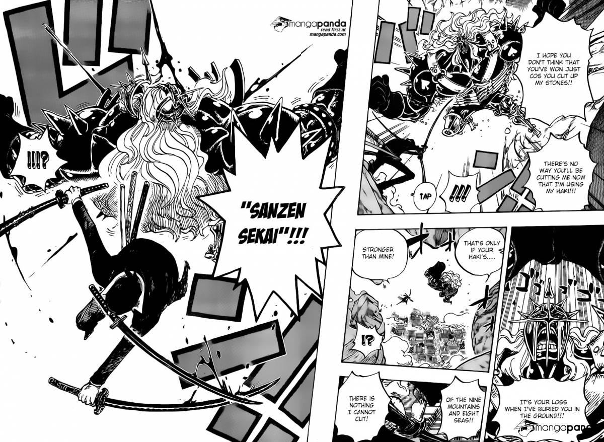 One Piece Ch 778: Tactics No.005