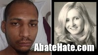 White nurse kicked to death; found frozen to pavement. Black male arrested.
