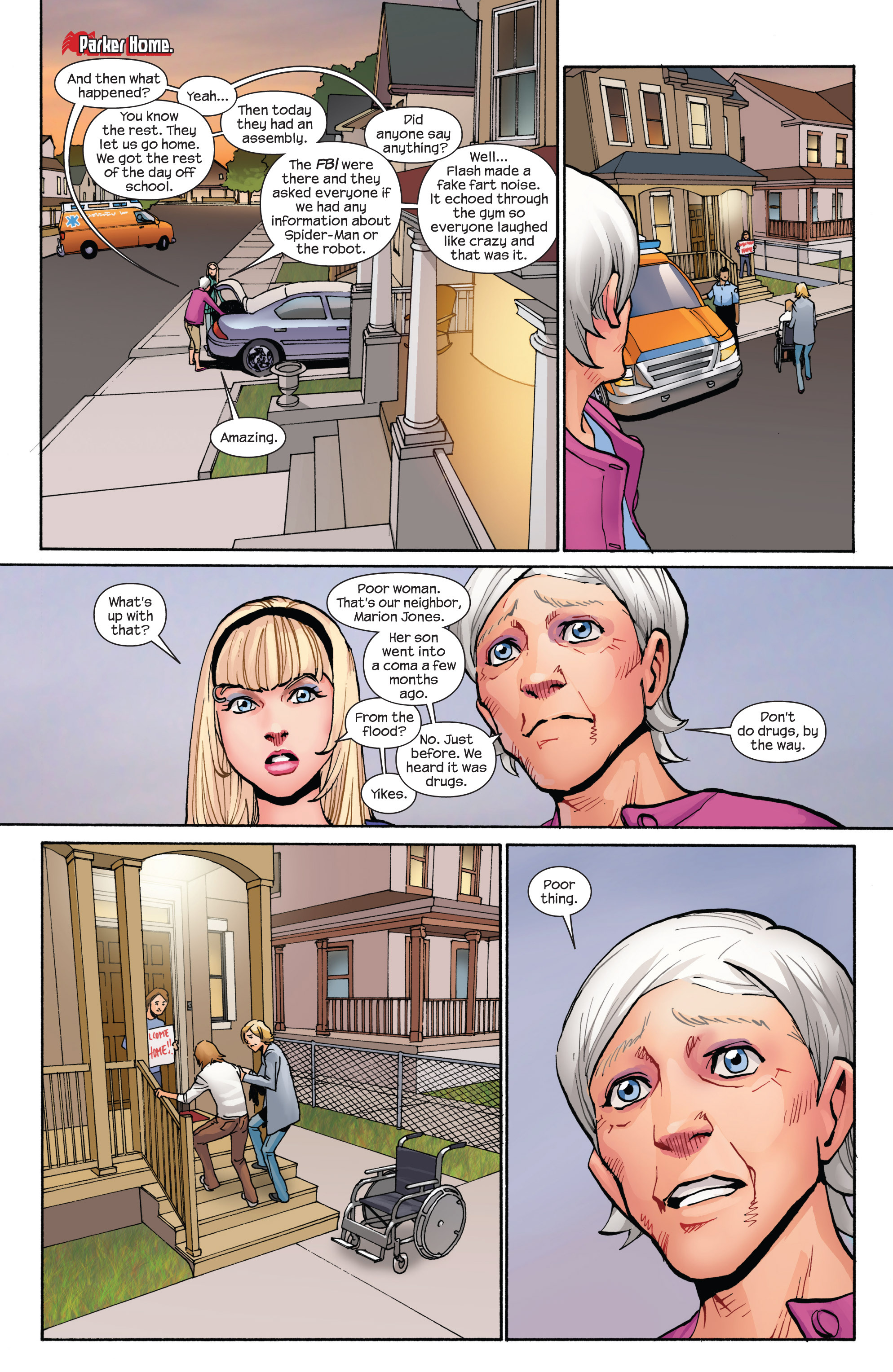 Read online Ultimate Spider-Man (2009) comic -  Issue #7 - 9