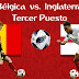 Bélgica vs. Inglaterra - En Vivo - Online - 3er. Puesto - Rusia 2018