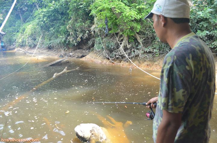 Bercuti dan memancing di Taman Negara Pahang