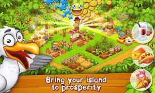 Farm Paradise: Hay Island Bay Mod Apk v1.49 (Unlimited Coin&Diamonds) Terbaru