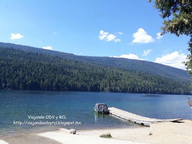 Lake Shore, Wells Gray Provincial Park. Canada. Viajando ODV y RCL  http://viajandoodvyrcl.blogspot.mx