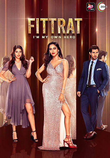 Poster of Fittrat Season 1 Complete Hindi 720p HDRip Free Download