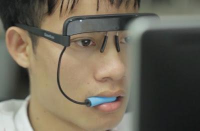 ابتكار لاصحاب الاعاقة يحل محل فأرة الحاسوب
