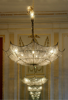 This Gorgeous Umbrella Chandelier Is From Rock And Royal
