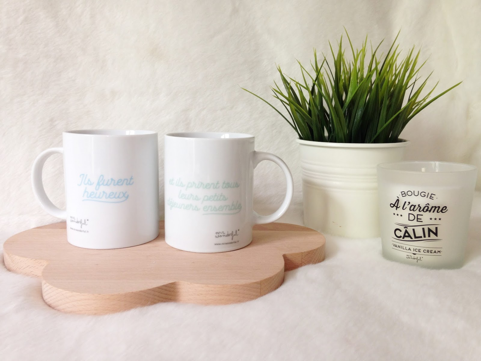 mr wonderful back to school déco décoration home eshop shop mignon adorable les gommettes de melo gommette gomette haul papeterie semainier bureau semaine planning organiser bullet journal sostrene grene autocollant stickers mug tasse amoureux duo breakfast