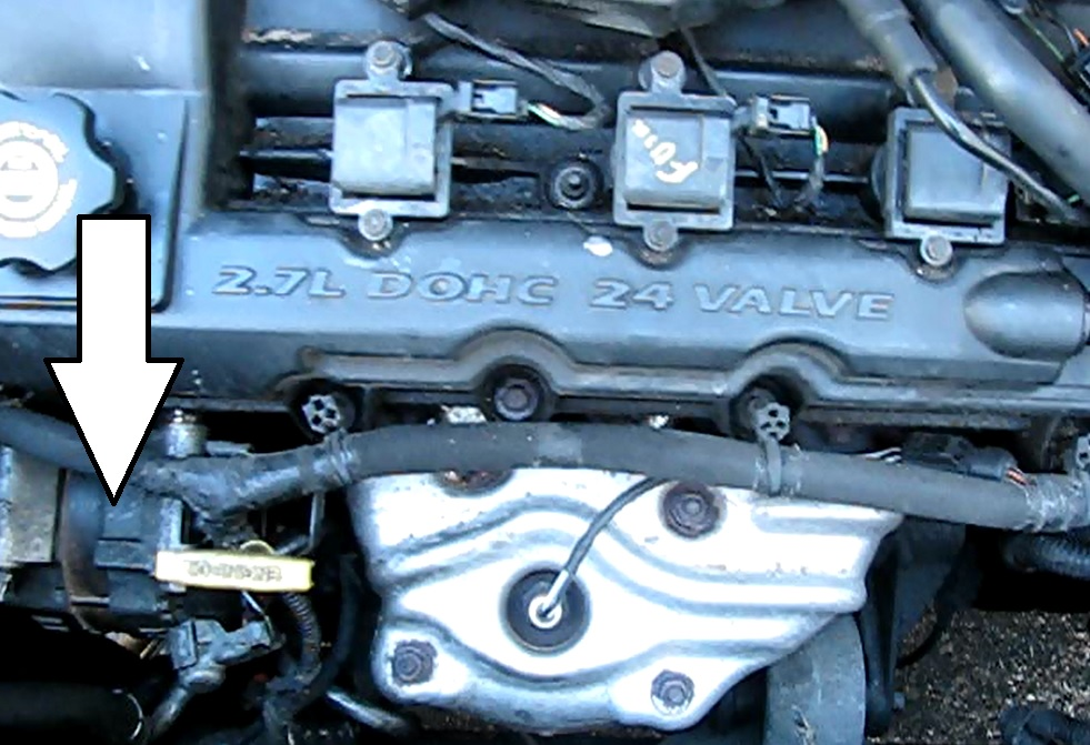 The Original Mechanic How To Replace Alternator On A 27l Rhoriginalmechanic: 2004 Chrysler Sebring Battery Location At Elf-jo.com