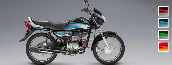 Honda Eco Deluxe: Color Azul-negro