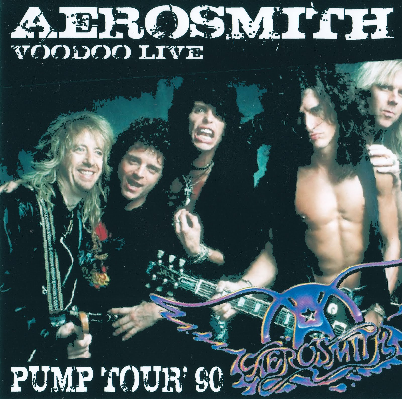 Aerosmith Bootlegs Cover Arts Voodoo Live Peoria 1990