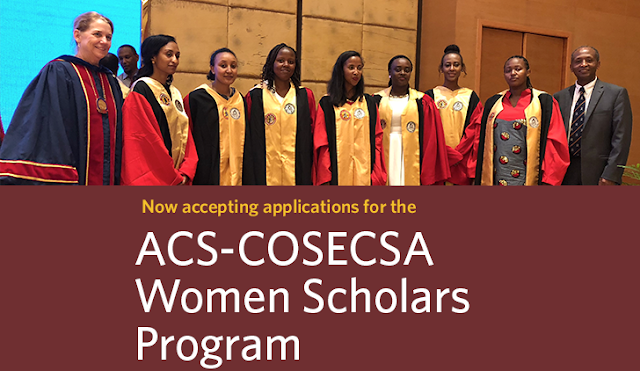 ACS-COSECSA Women Scholars Program for African Women in Surgical Residency 2018/2019