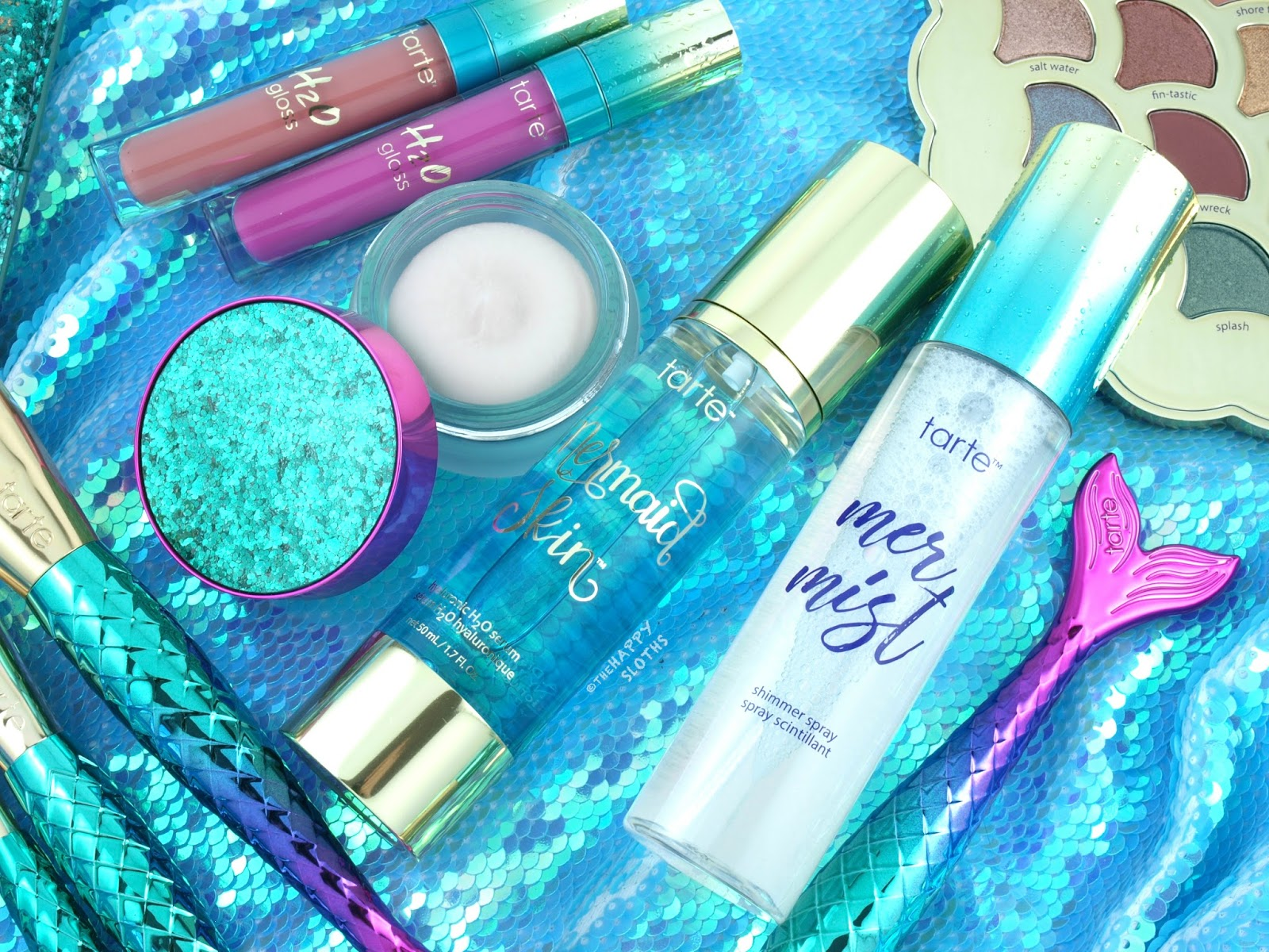 Tarte Mermaid Collection | Mermaid Skin Hyaluronic H2O Serum & Timeless Smoothing Primer: Review