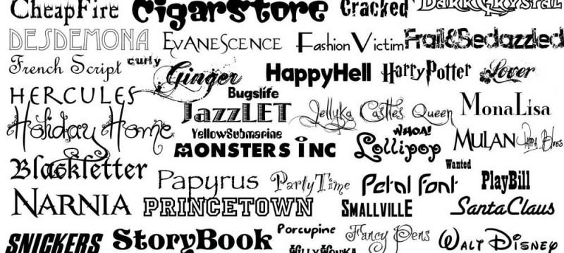 Image result for tipografias