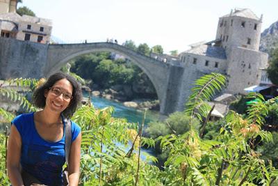 Stari Most over Neretva river in Mostar