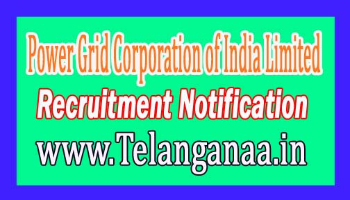 Power Grid Corporation of India Limited PGCIL Recruitment Notification 2017