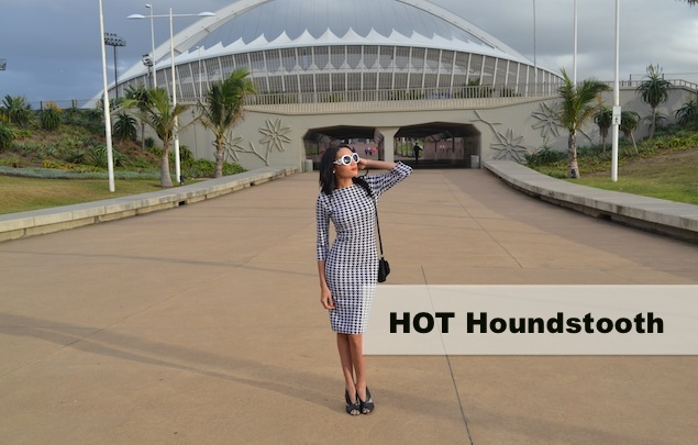 HOT Houndstooth Dress