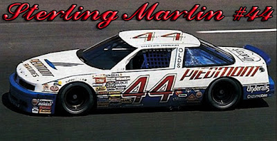 Sterling Marlin #44 Piedmont Racing Champions 1/64 NASCAR diecast blog
