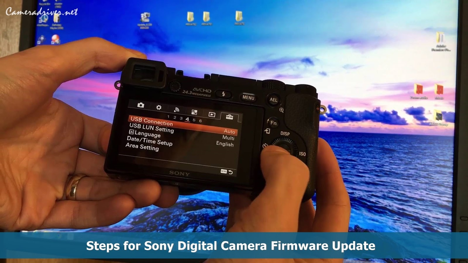 Sony Digital Camera Firmware Update