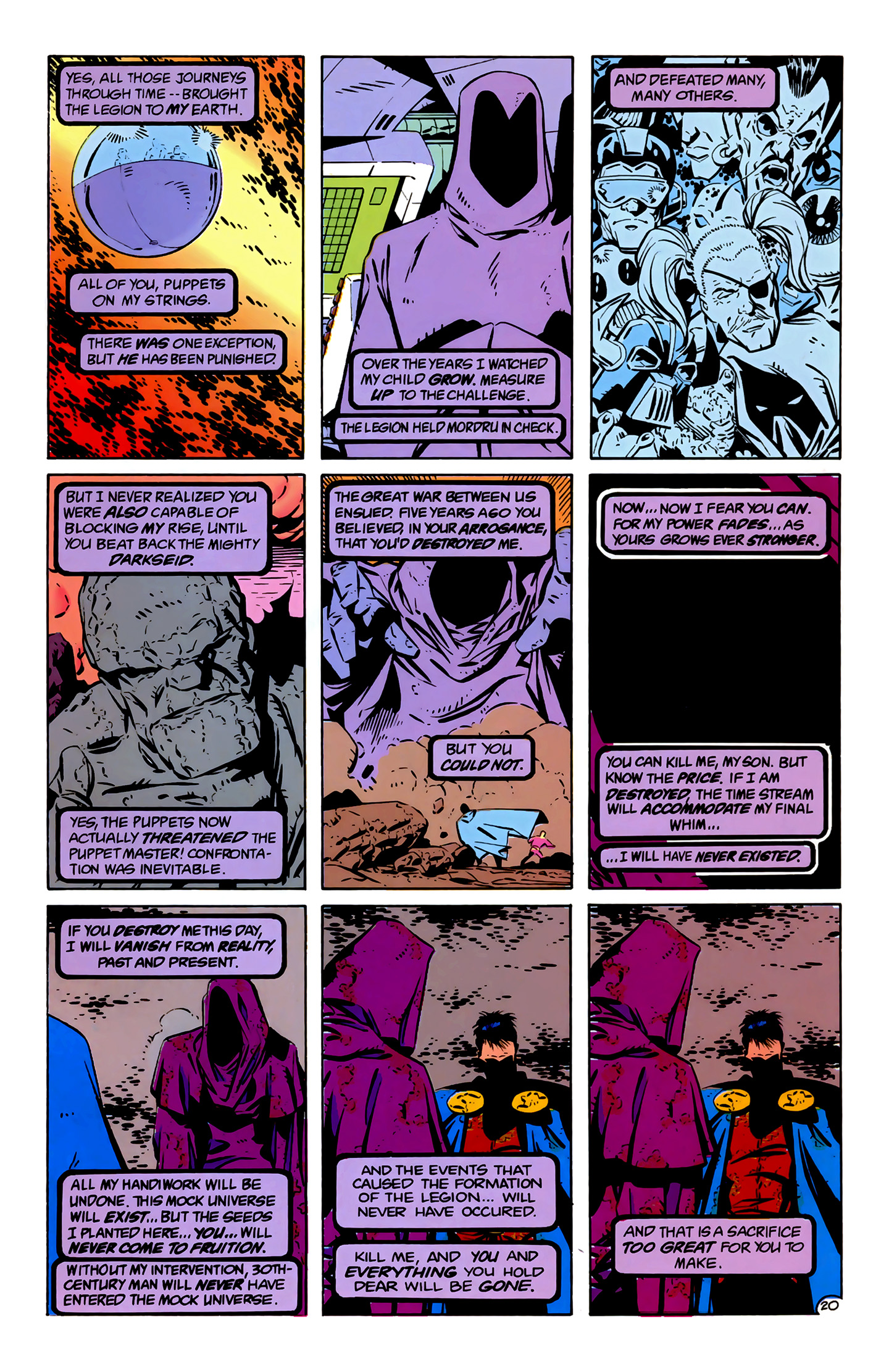 Legion of Super-Heroes (1989) 4 Page 20