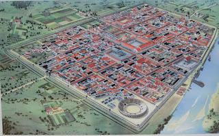 Modelo da Cidade de Colônia no Período Romano