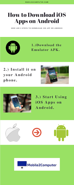 How to Download iOS Apps on Android