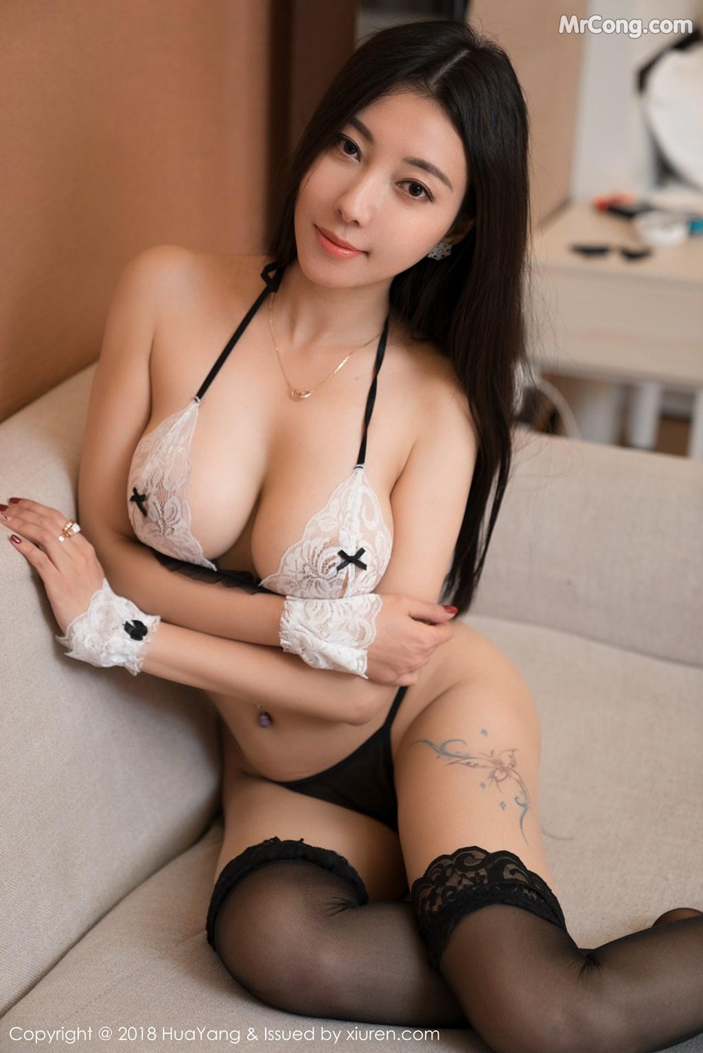 Image HuaYang-2018-01-26-Vol.028-Victoria-Guo-Er-MrCong.com-040 in post HuaYang 2018-01-26 Vol.028: Người mẫu Victoria (果儿) (41 ảnh)