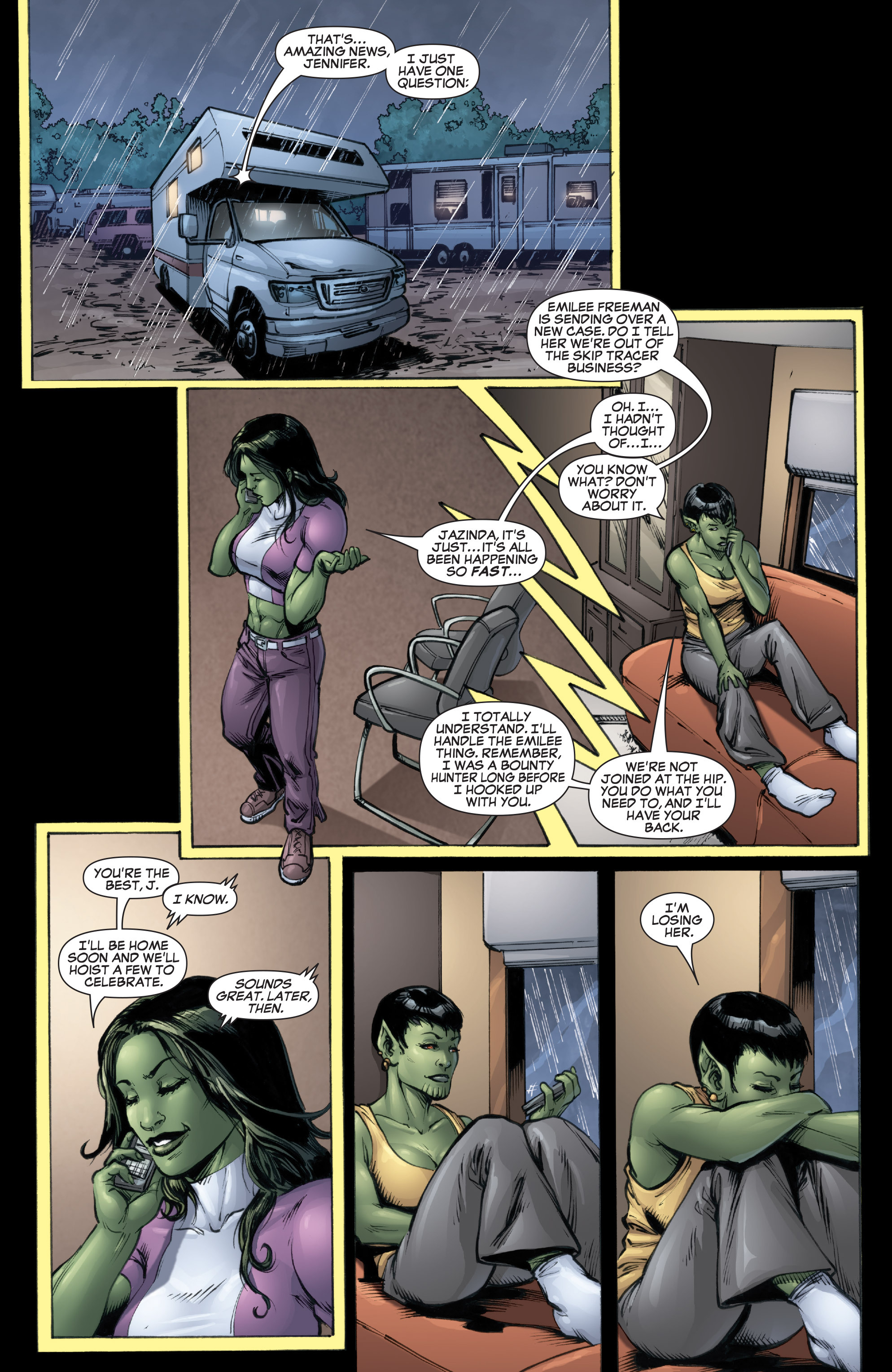 Read online She-Hulk (2005) comic -  Issue #37 - 21