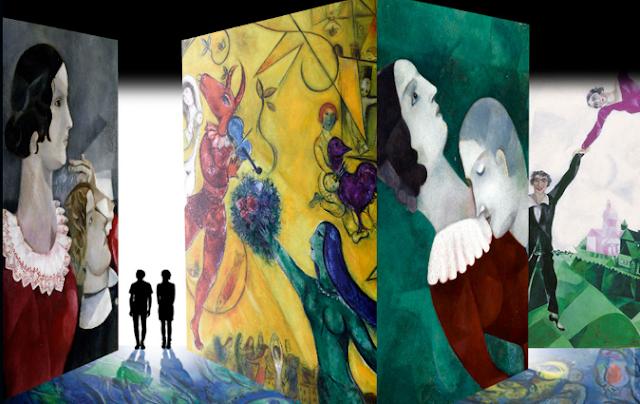 Laboratori per bambini nella mostra di Chagall