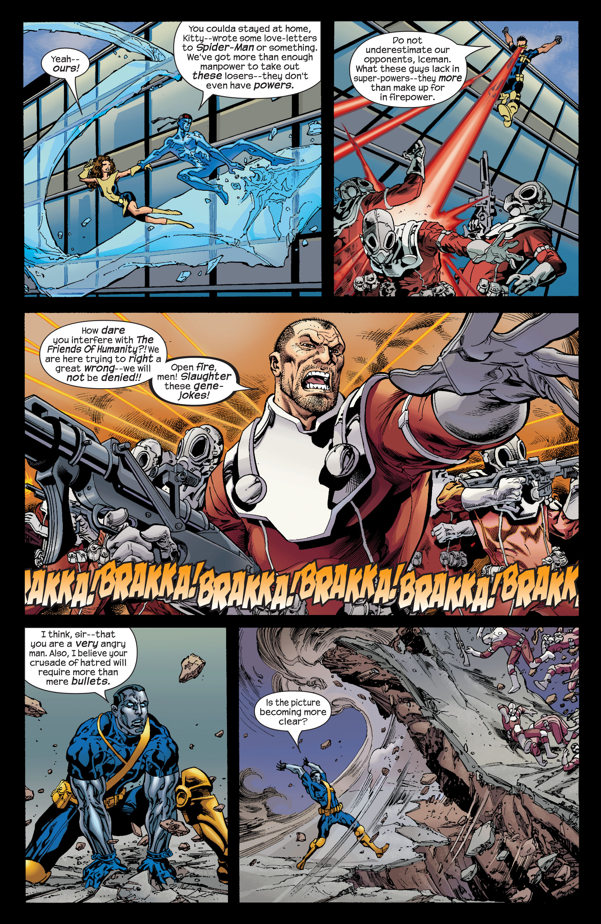 Read online Ultimate X-Men comic -  Issue #72 - 6