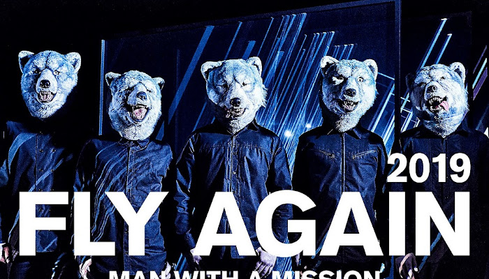 MAN WITH A MISSION – FLY AGAIN 2019 (Digital Single)