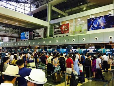 Vietnam Airlines khắc phục xong sự cố tại sân bay Nội Bài và Tân Sơn Nhất