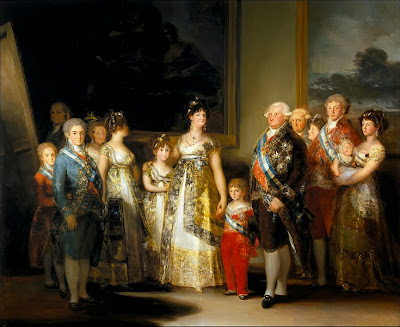 Charles IV of Spain and His Family by Francisco Goya, 1800
