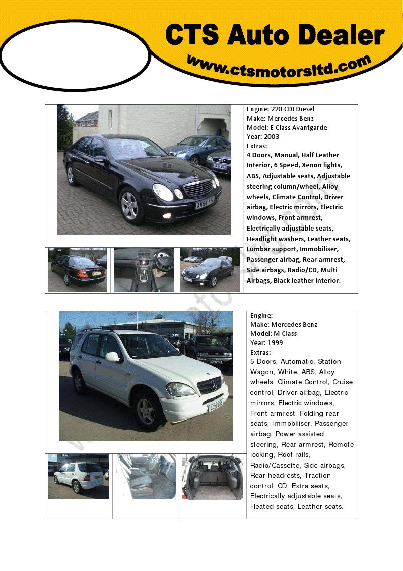 MercedesManuals: Free Mercedes Benz E Class Engine- 220 CDI