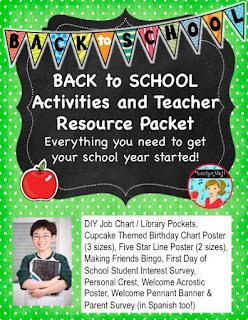 Back to School Classroom Resource
