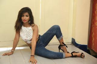 Deekshita Parvathi in a short crop top and Denim Jeans Spicy Pics Beautiful Actress Deekshita Parvathi January 2017 CelebxNext (157).JPG