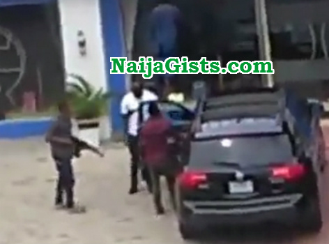 police robber armed robbery port harcourt