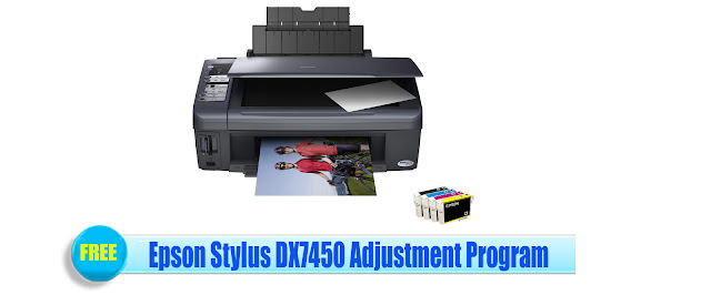 Epson Stylus DX7450 Adjustment Program