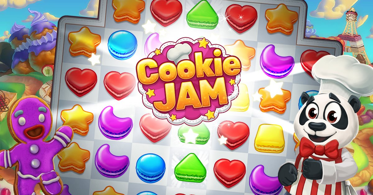 Trainer Cookie Jam Hack Updated 2018 Unlimited Move, Match 3 is