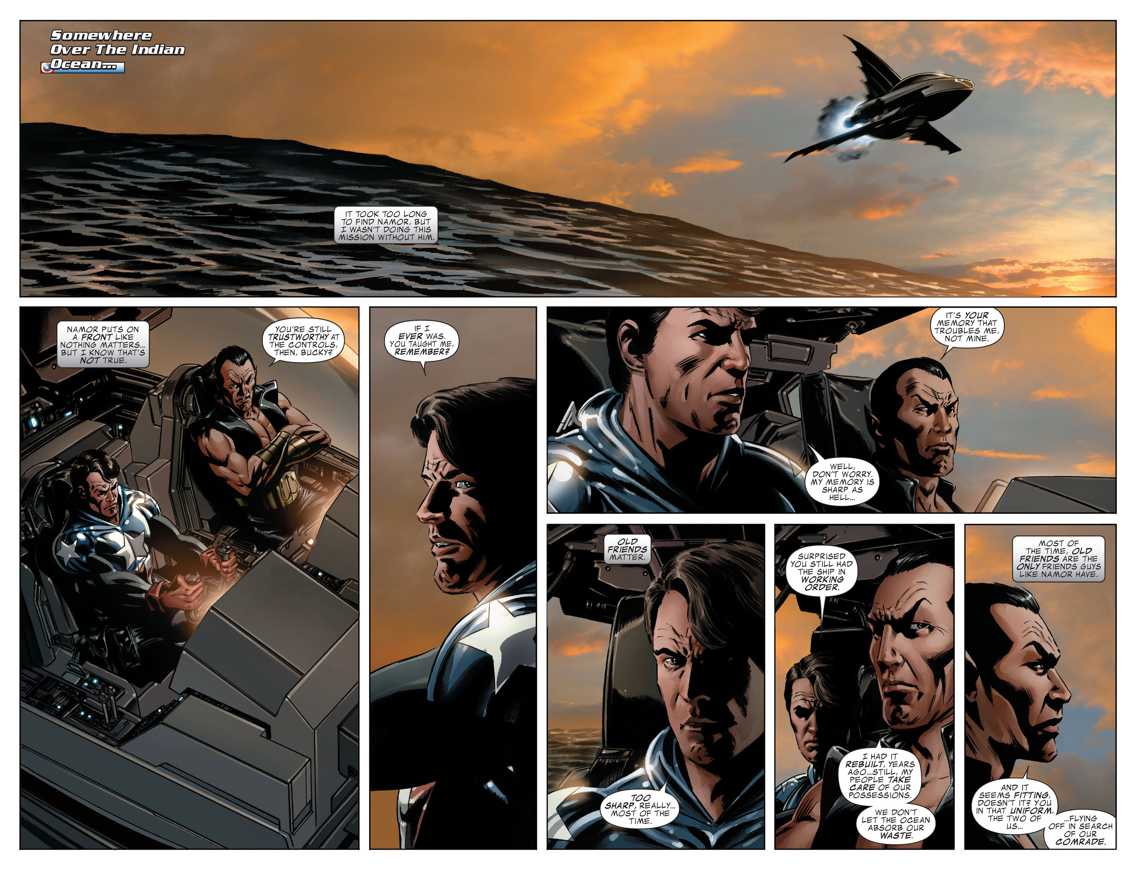 Read online Captain America (2005) comic -  Issue #46 - 5
