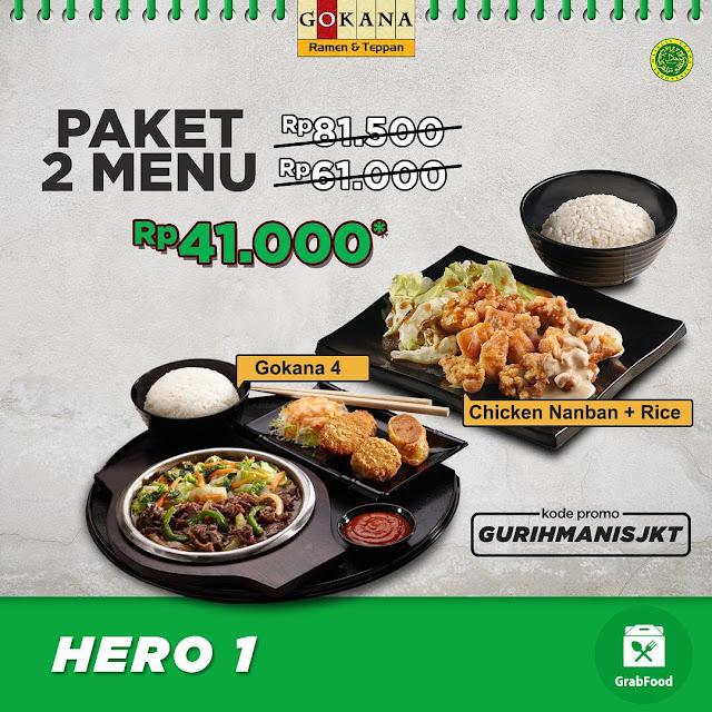 #Gokana - #Promo Diskon Paket Hero 1 - 3  HIngga 50% & Tambahan Diskon Grab (s.d 14 April 2019)