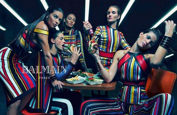 Balmain's Spring 2015 Ad Campaign