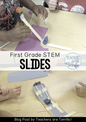 STEM for first grade- Build a slide!