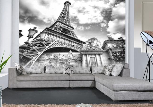 Lukisan 3D Menara Eiffel