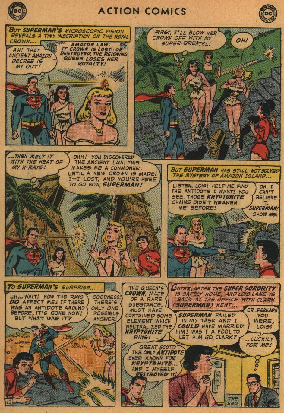 Read online Action Comics (1938) comic -  Issue #235 - 14